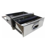 Ящик для жмыха (встраиваемый) 347L x132H x 405Wmm.