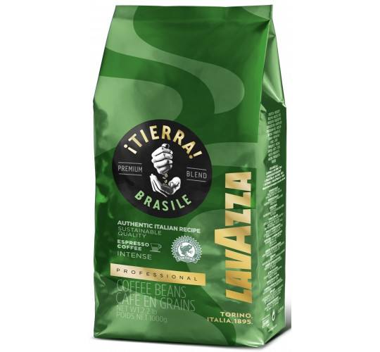 Кофе Lavazza Tierra Brazil (Intenze) зерно 1кг