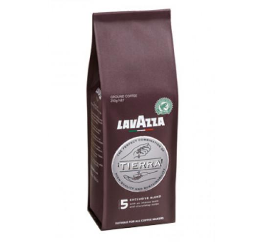 Кофе Lavazza Tierra 5 молотый 250г