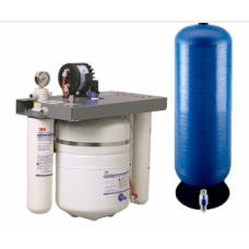 reverse osmosis system with valve, HF20 prefilter and remote tank
