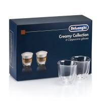 Набор стаканов DeLonghi Cappuccino 190 мл (6 шт.)