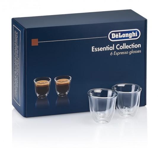 Набор стаканов DeLonghi Espresso 60 мл (6 шт.)