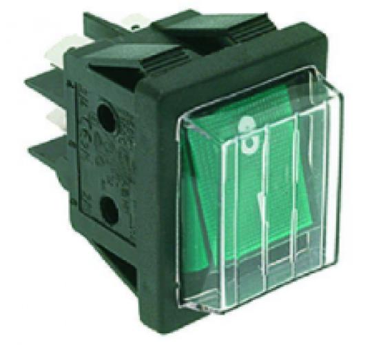 Биполярный электрический переключатель 250V 16A