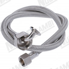 CONICAL STAINLESS STEEL HOSE 3/4Fp-3/8Fc 80cm
