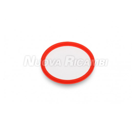 RED SILICON O-RING 1.25 x 13.3
