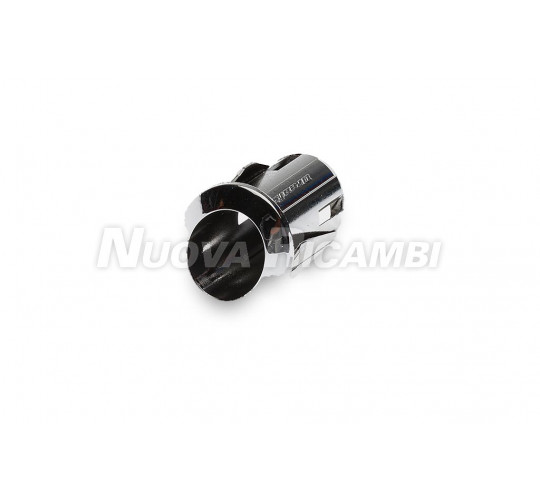 SILVER OVAL BUTTON SUPPORT