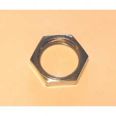 CHROME LOCK NUT 3/8