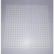 PLASTIC GRID (WHITE) cm31x31