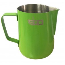 MILK PITCHER 350ml GLASS GREEN