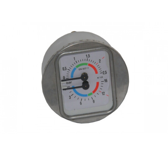 DOUBLE MANOMETER (SHORT FITTING)