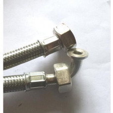 STAINLESS STEEL HOSE 3/4F-3/4F cm200
