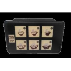 Кнопочная панель для кофемашины ASTORIA 6 + 1 кнопок