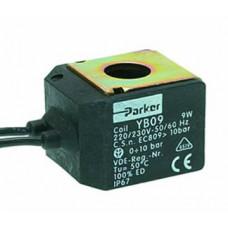 Катушка электромагнитного клапана PARKER Yb09 220v 9w