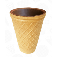 Вафельный стаканчик для кофе